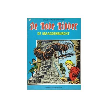 Rode Ridder Zwart-wit 102 De maagdenburcht 1e druk 1983
