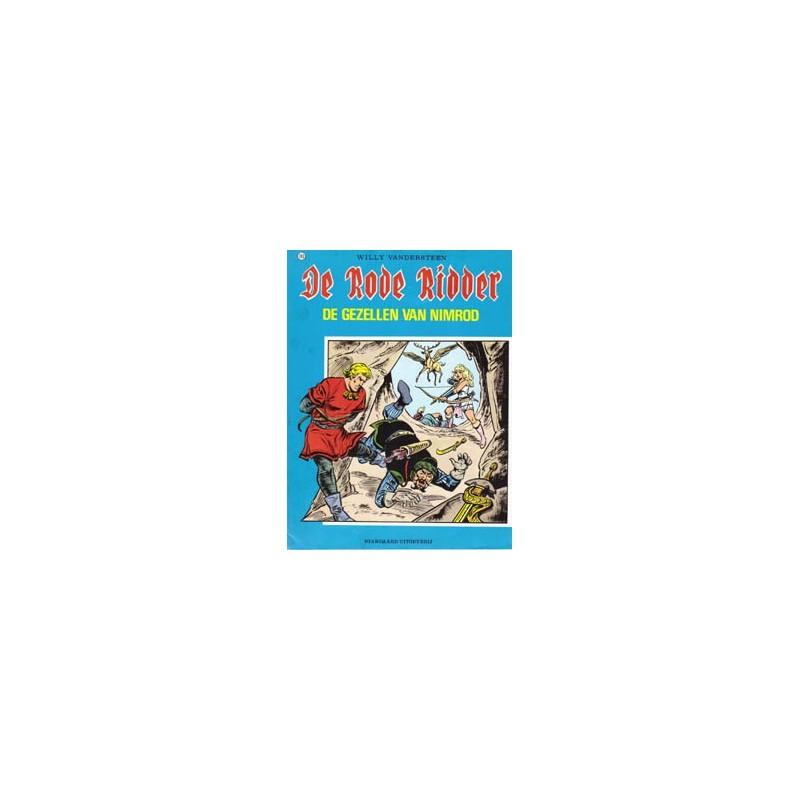 Rode Ridder Zwart-wit 103 Gezellen van Nimrod 1e druk 1983