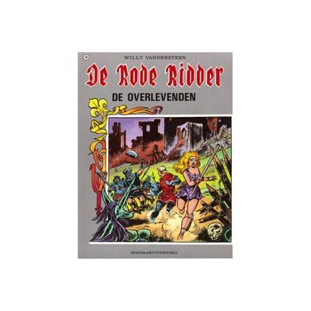 Rode Ridder Kleur 108 De overlevenden 1e druk 1984