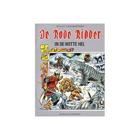 Rode Ridder Kleur 116 In de witte hel 1e druk 1986