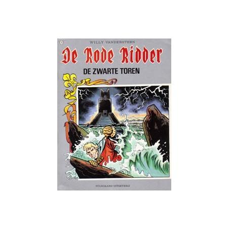 Rode Ridder Kleur 121 De zwarte toren 1e druk 1987