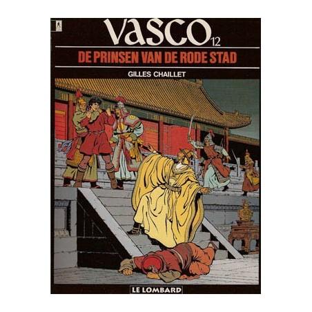 Vasco  12 De prinsen van de rode stad