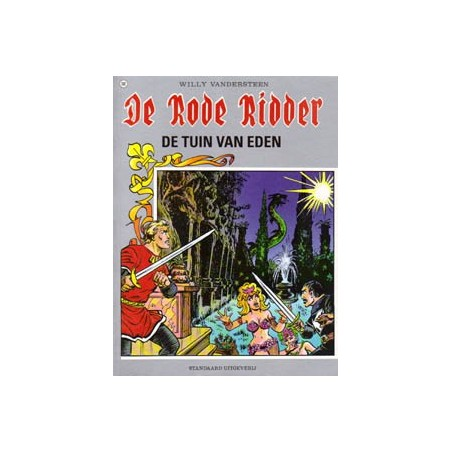 Rode Ridder Kleur 141 De tuin van Eden 1e druk 1992