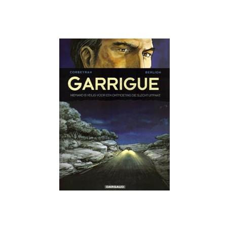 Garrigue set deel 1 & 2 1e drukken 2008 Niemand is veilig voor een ontmoeting die slecht uitpakt