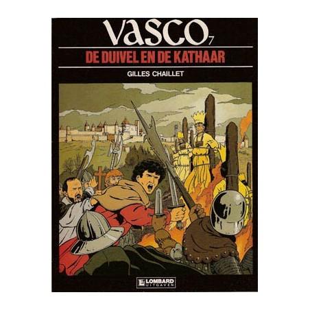 Vasco 07 De duivel en de kathaar 1e druk 1988