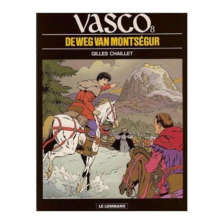 Vasco 08 - De weg van Montsegur