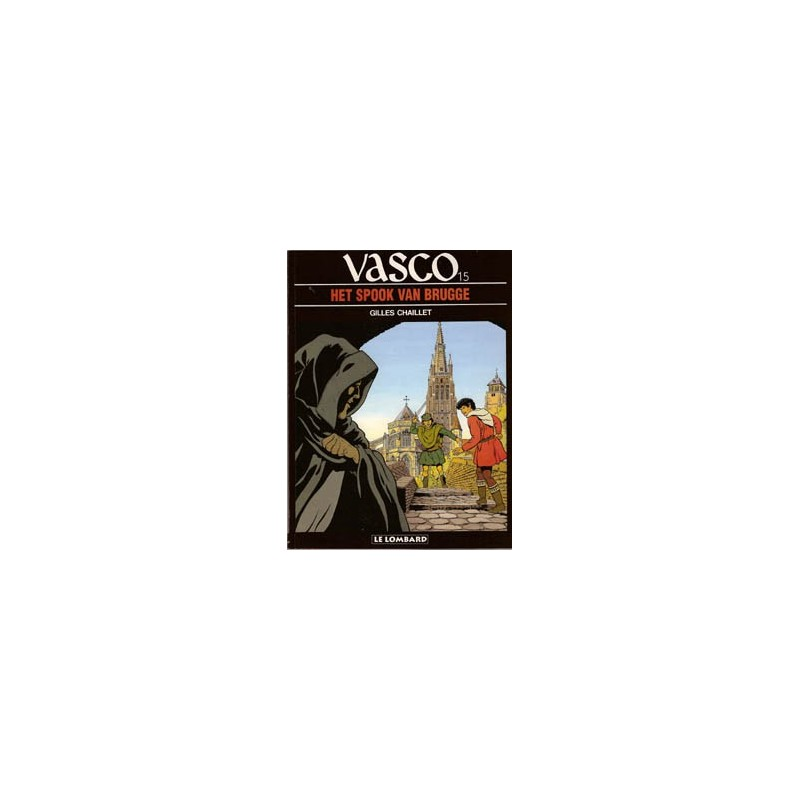 Vasco  15 Het spook van Brugge