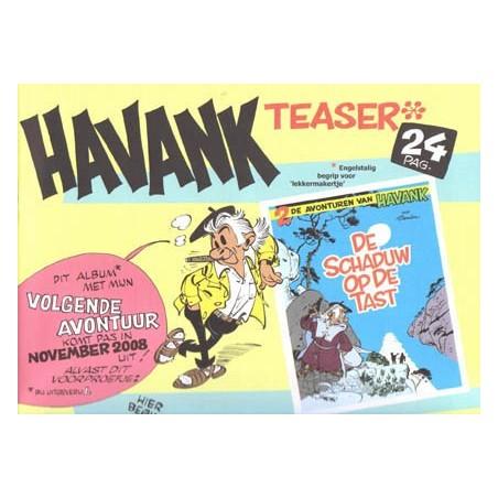 Havank Teaser 24 platen op groot formaat Gesigneerd