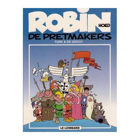 Robin Hoed  01 De pretmakers herdruk nieuwe omslag