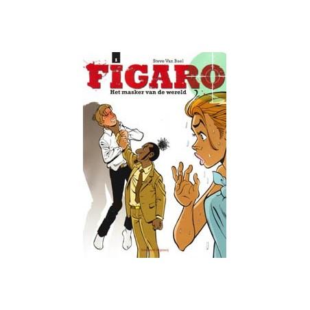 Figaro 01 Het masker van de wereld 1e druk 2008