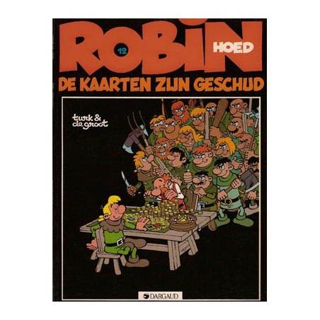 Robin Hoed 12 De kaarten zijn geschud 1e druk 1985