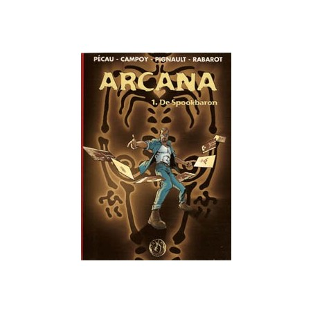 Arcana 01 SC<br>De spookbaron