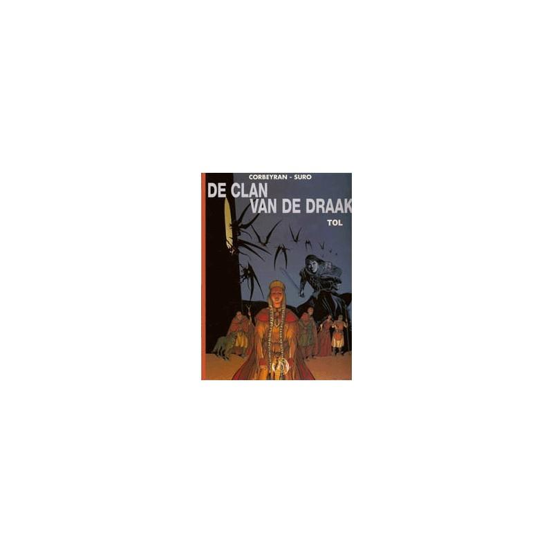 Clan van de draak Talent set deel 1 t/m 3 1e drukken 2001-2003