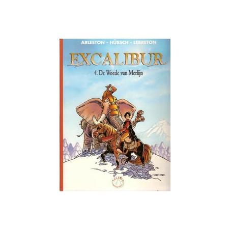 Excalibur 04 De woede van Merlijn