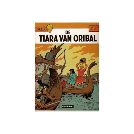 Alex  04 De tiara van Oribal