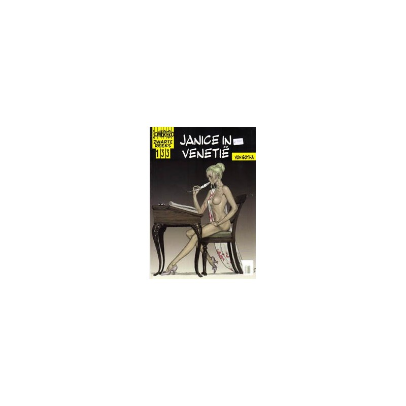 Zwarte reeks  133 Janice in Venetie