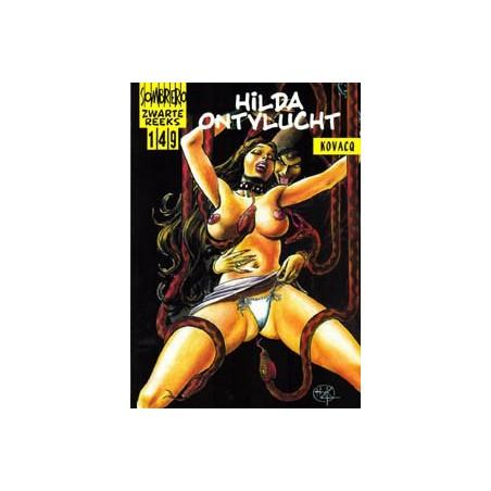 Zwarte reeks  149 Hilda ontvlucht