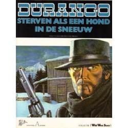Durango 01 SC - Sterven als een hond in de sneeuw 1e druk