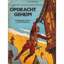 Dappere Musketier Opdracht geheim 1e druk 1968