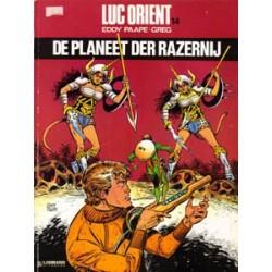Luc Orient 14<br>De planeet der razernij<br>herdruk