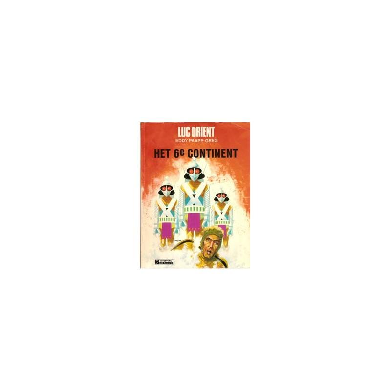 Luc Orient 10 Het 6e continent 1e druk 1976