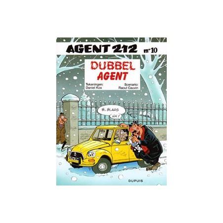 Agent 212 10 Dubbel agent herdruk nieuw voorblad