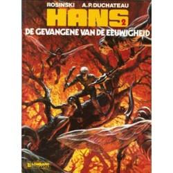 Hans<br>02 - De gevangene van de eeuwigheid<br>1e druk 1985