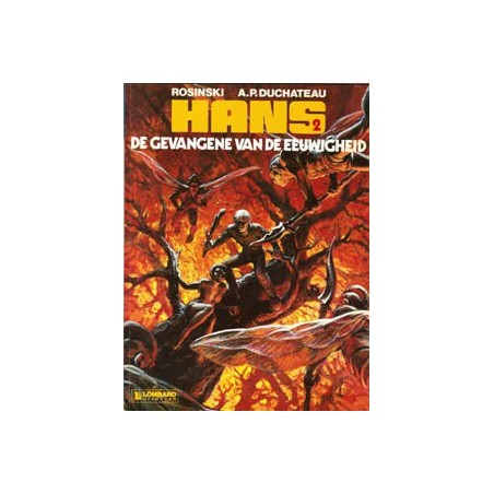 Hans 02 De gevangene van de eeuwigheid 1e druk 1985