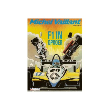 Michel Vaillant  40 F1 in oproer