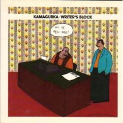 Kamagurka<br>Writer's block<br>1e druk 1995