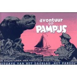 Kapitein Rob Facsimile<br>Avontuur op Pampus<br>herdruk 1992