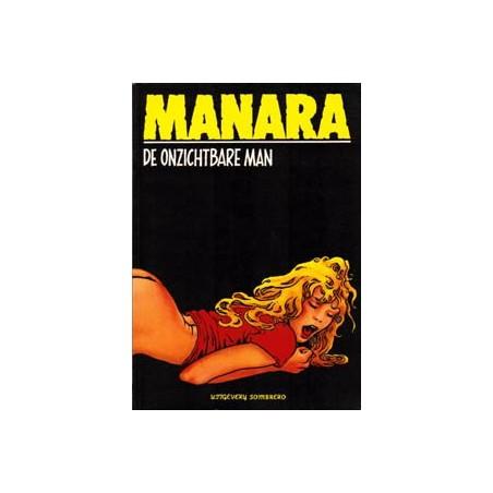 Zwarte reeks 018 De onzichtbare man 1e druk 1987
