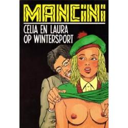 Zwarte reeks 058 Celia & Laura op wintersport 1e druk 1992