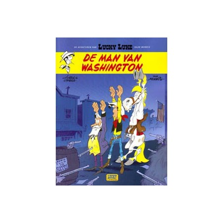 Lucky Luke  003 III  De man van Washington