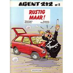 Agent 212<br>08 - Rustig maar!<br>1e druk 1987