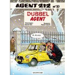 Agent 212<br>10 - Dubbel agent<br>herdruk