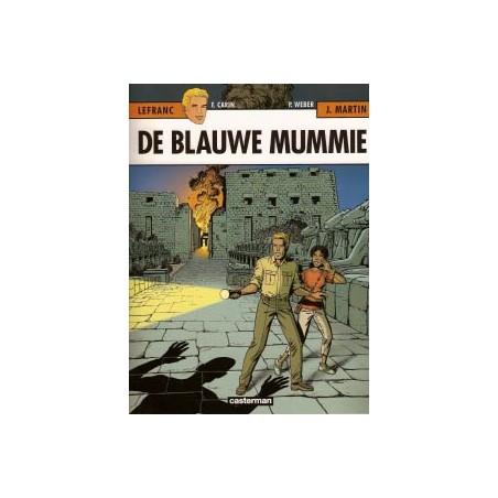 Lefranc  18 De blauwe mummie