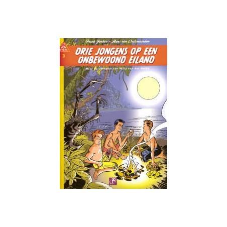 Bob Evers 03 Drie jongens op een onbewoond eiland