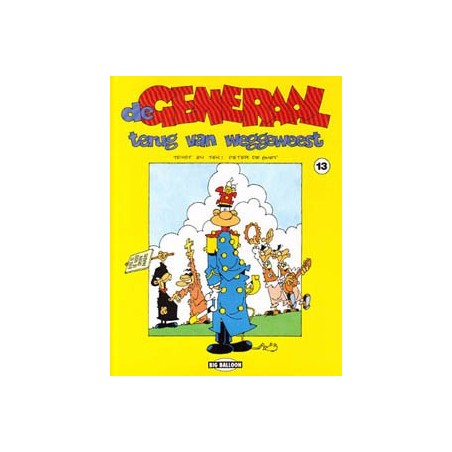 Generaal 13 Terug van weggeweest 1e druk 1992