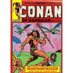Conan<br>pocket setje<br>Deel 1 t/m 4