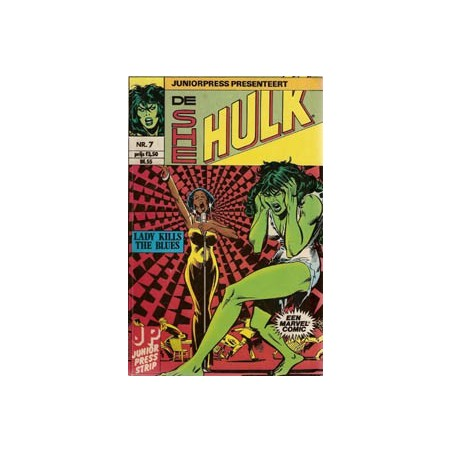 She Hulk 07 Lady kills the blues 1981