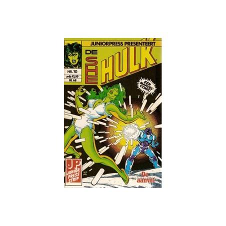 She Hulk 10 De aanval 1982