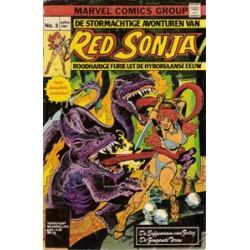Red Sonja 03 - De erfgenaam van Zotog 1981