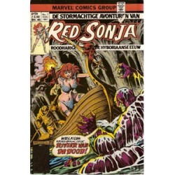 Red Sonja 07 - De kroon van Quillos 1981