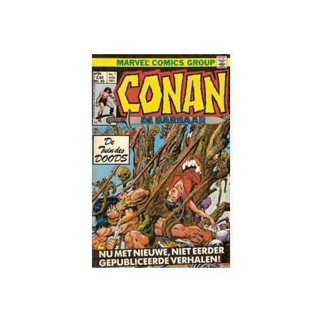 Conan de Barbaar 07 - De tuin des doods 1981