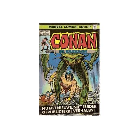 Conan de Barbaar 08 - De nacht van het monsterbeeld 1981