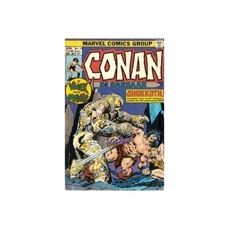 Conan de Barbaar 10 - Vloek van de magiër, Shokkoth! 1981