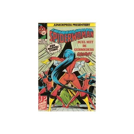 Spiderwoman 05 Duel met de gebroeders Grimm! 1982