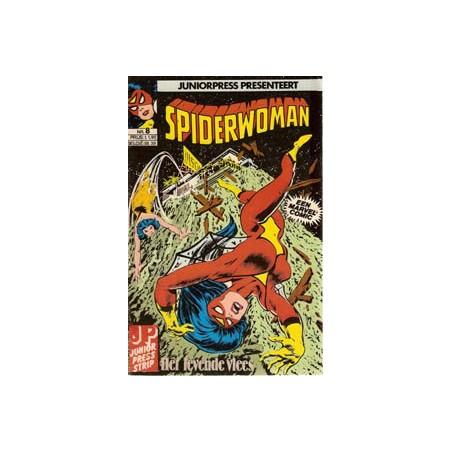 Spiderwoman 08 Het levende vlees 1982
