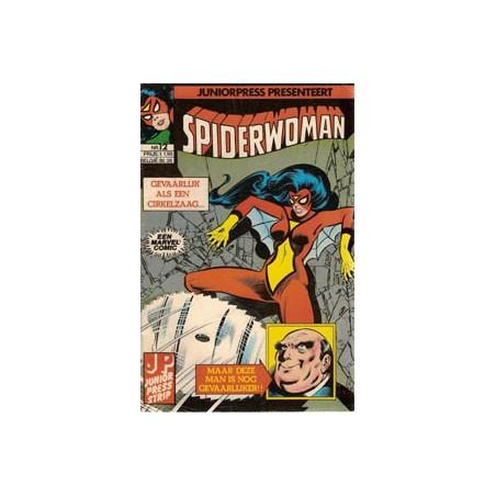 Spiderwoman 12 Gevaarlijk als een cirkelzaag... 1982
